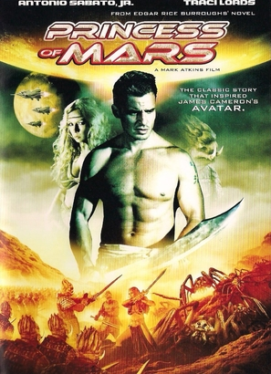 Princess of Mars - DVD cover (thumbnail)