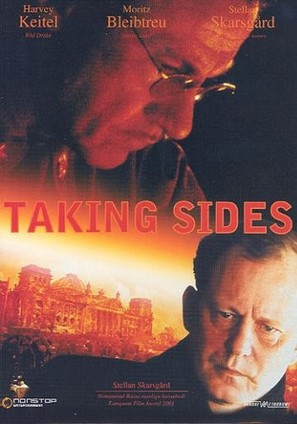 Taking Sides - Swedish DVD cover (thumbnail)