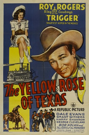 The Yellow Rose of Texas - Movie Poster (thumbnail)
