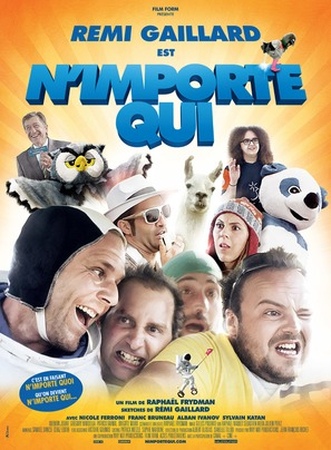 N'importe qui - French Movie Poster (thumbnail)