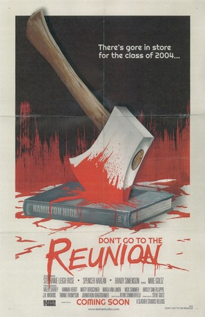 Don't Go to the Reunion - Movie Poster (thumbnail)