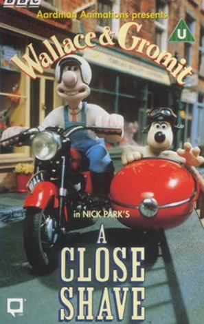 A Close Shave - British VHS cover (thumbnail)