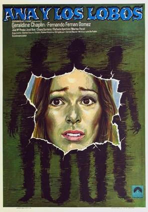 Ana y los lobos - Spanish Theatrical movie poster (thumbnail)