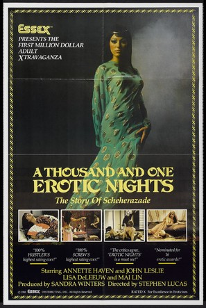 A Thousand and One Erotic Nights - Movie Poster (thumbnail)