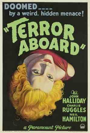 Terror Aboard - Movie Poster (thumbnail)