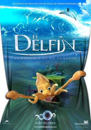 El delfín: La historia de un soñador - Peruvian Movie Poster (thumbnail)