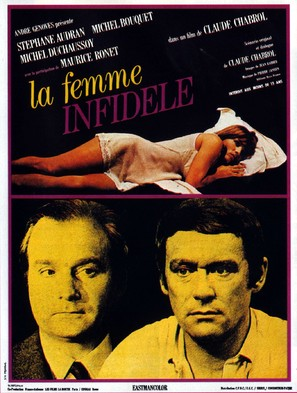 La femme infidèle - French Movie Poster (thumbnail)