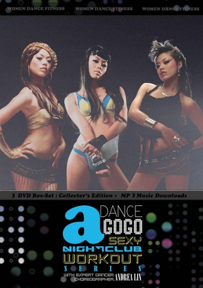 Dance a GoGo: Sexy Nightclub Workout - DVD cover (thumbnail)