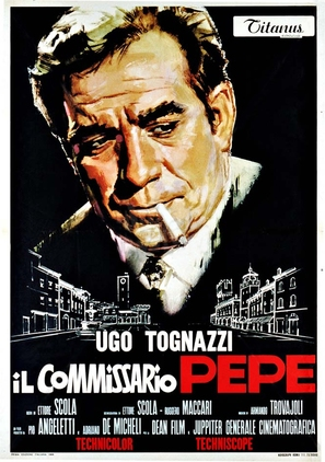 Il commissario Pepe - Italian Movie Poster (thumbnail)