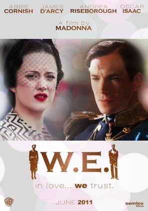 W.E. - British Movie Poster (thumbnail)