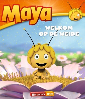 """Maya the Bee"" - Belgian Blu-Ray movie cover (thumbnail)"