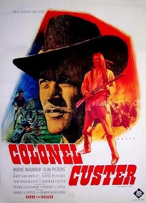 """Custer"" - German Movie Poster (thumbnail)"