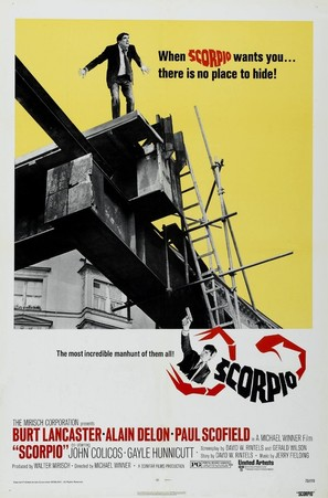 Scorpio - Theatrical movie poster (thumbnail)
