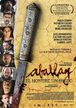 Aballay, el hombre sin miedo - Argentinian Movie Poster (thumbnail)