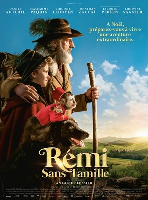Rémi sans famille - French Movie Poster (thumbnail)