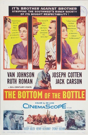 The Bottom of the Bottle - Movie Poster (thumbnail)