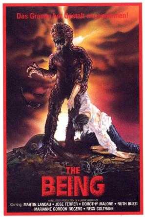 The Being - German VHS movie cover (thumbnail)