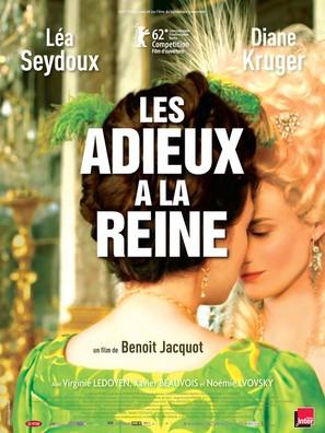 Les adieux à la reine - French Movie Poster (thumbnail)