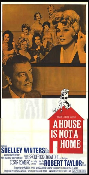 A House Is Not a Home - Movie Poster (thumbnail)
