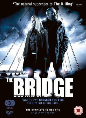 """""""Bron/Broen"""" - British DVD movie cover (thumbnail)"""