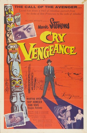 Cry Vengeance - Movie Poster (thumbnail)