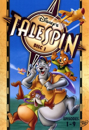 """""""TaleSpin"""" - DVD movie cover (thumbnail)"""