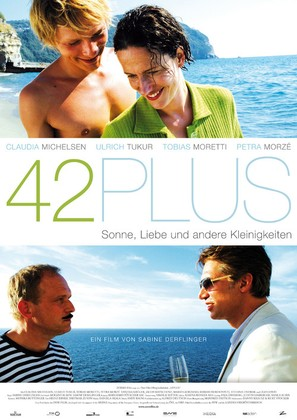 42plus - German Movie Poster (thumbnail)