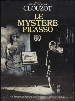 Le mystère Picasso - French Re-release poster (thumbnail)