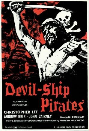 The Devil-Ship Pirates - British Movie Poster (thumbnail)