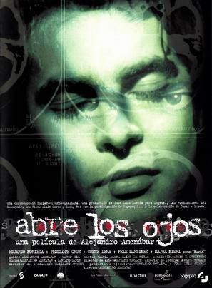Abre los ojos - Spanish Movie Poster (thumbnail)