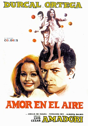 Amor en el aire - Spanish Movie Poster (thumbnail)