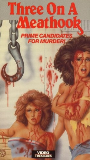 Three on a Meathook - VHS movie cover (thumbnail)