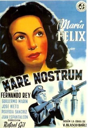 Mare nostrum - Spanish Movie Poster (thumbnail)