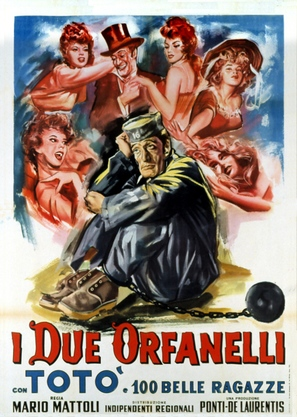 I due orfanelli - Italian Movie Poster (thumbnail)