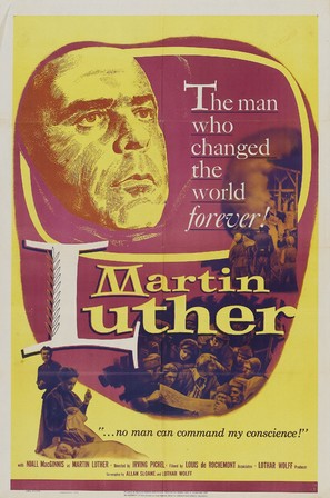 Martin Luther - Movie Poster (thumbnail)