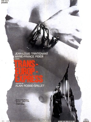 Trans-Europ-Express - French Movie Poster (thumbnail)