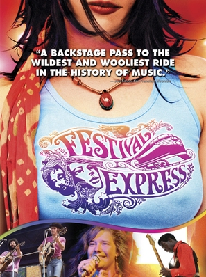 Festival Express - Movie Poster (thumbnail)