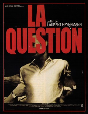 La question - French Movie Poster (thumbnail)