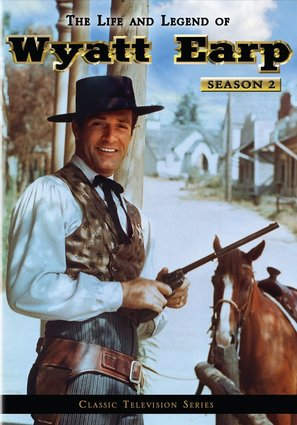 """The Life and Legend of Wyatt Earp"" - DVD cover (thumbnail)"