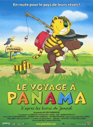 Oh wie schön ist Panama - French Movie Poster (thumbnail)