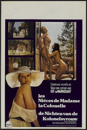 Nichten der Frau Oberst, Die - Belgian Movie Poster (thumbnail)