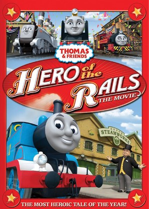 Thomas & Friends: Hero of the Rails - DVD cover (thumbnail)