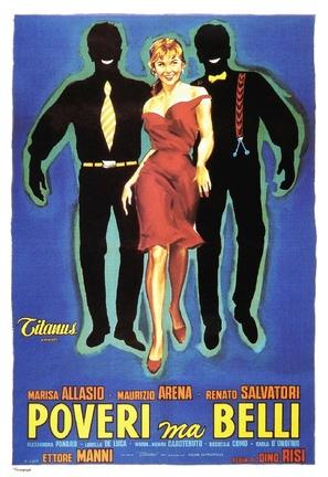 Poveri ma belli - Italian Movie Poster (thumbnail)