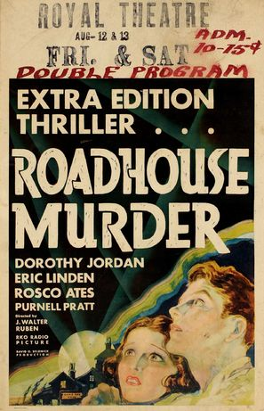 The Roadhouse Murder - Movie Poster (thumbnail)