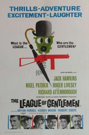 The League of Gentlemen - British Movie Poster (thumbnail)