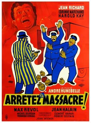 Arrêtez le massacre - French Movie Poster (thumbnail)