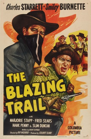 The Blazing Trail - Movie Poster (thumbnail)