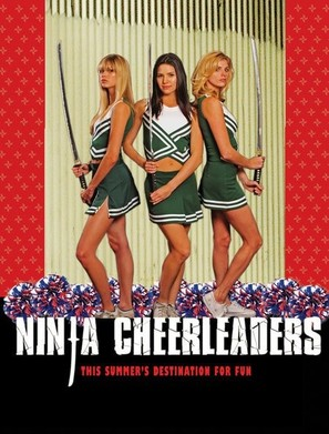 Ninja Cheerleaders - Movie Poster (thumbnail)