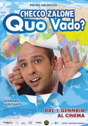 Quo vado? - Italian Movie Poster (thumbnail)
