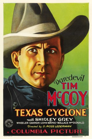 Texas Cyclone - Movie Poster (thumbnail)